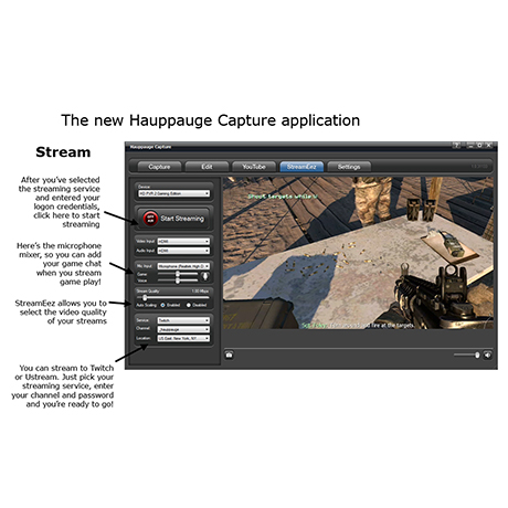 Hauppauge Capture | StreamEez tab